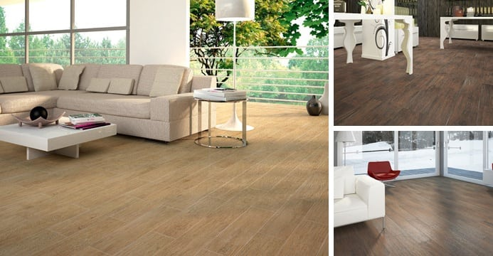 HD porcelain wood tile
