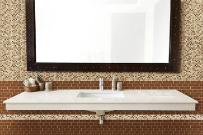CoverQuik glass and stone tile