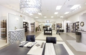 Porcelain Tile Show Room in Washington DC