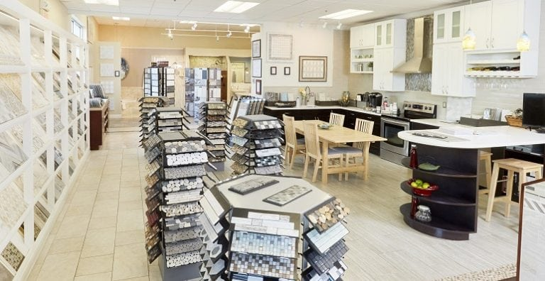 Conestoga Tile showroom displaying ceramic tile and porcelain tile