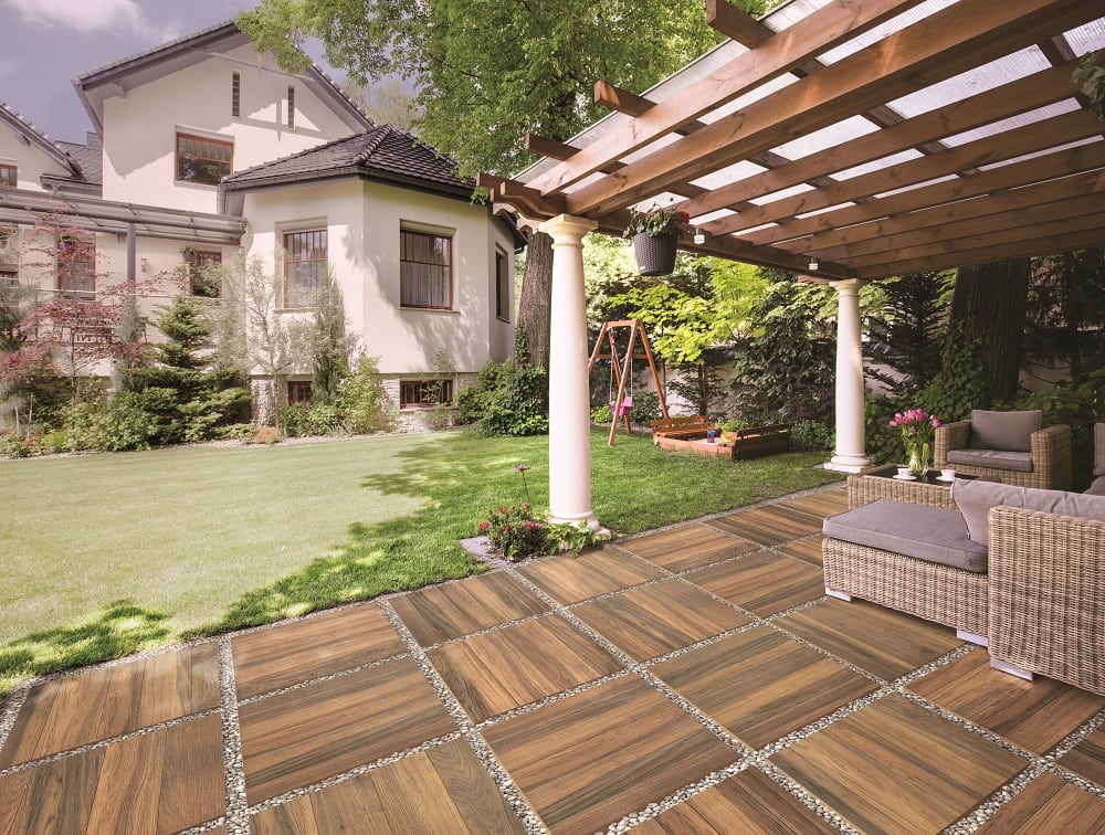 Porcelain The Ultimate Outdoor Tile, Tile Outdoor Patio