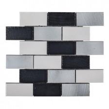 "Lava Stone - Galvanized 2"" x 4"" Brick"