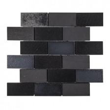 "Lava Stone - Cast Iron 2"" x 4"" Brick"