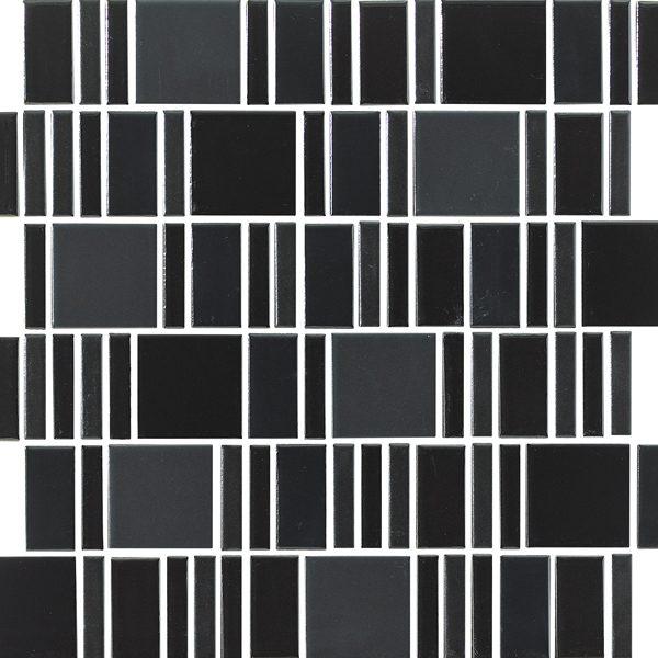 Black Multi Mosaic