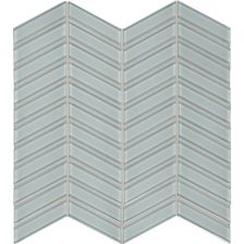 Calm Green Chevron Mosaic