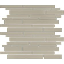 Tranquil Tan Random Strip Mosaic