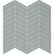 Quiet Gray Chevron Mosaic
