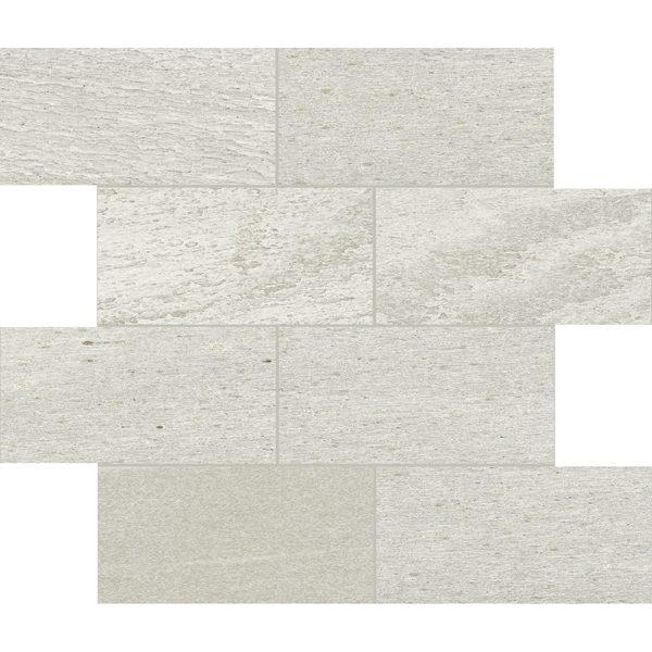 """White 3"""" x 6"""" Offset Mosaic"""
