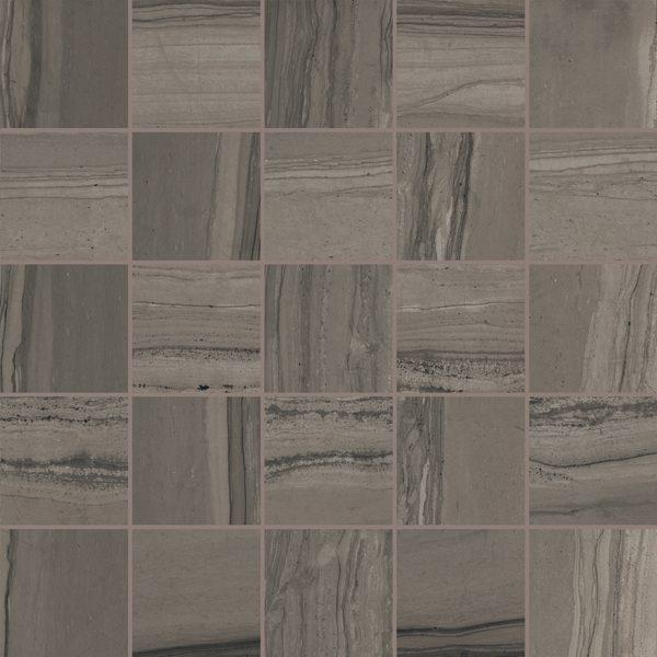 "Amazonian Bark 2"" x 2"" Mosaic"