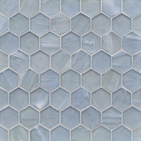 "Aero Silk 2"" Hexagon Mosaic"