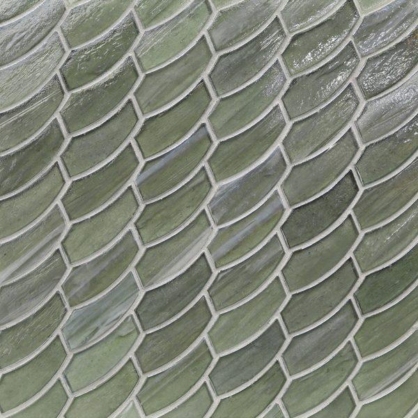Aurora Pearl Feather Mosaic