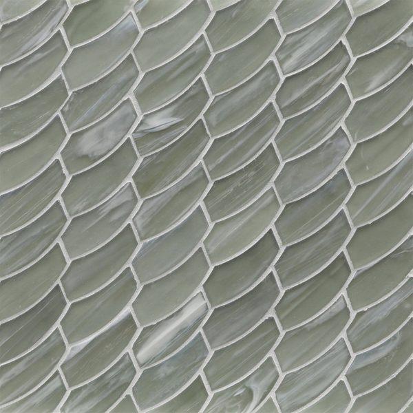Aurora Silk Feather Mosaic