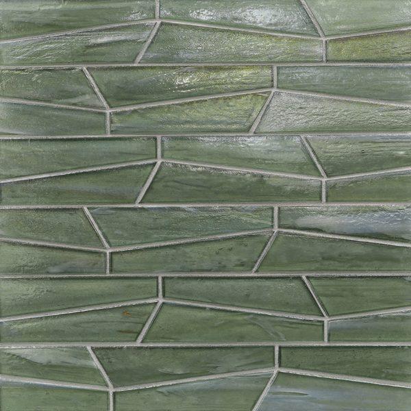 Bamboo Garden Pearl Fin Mosaic