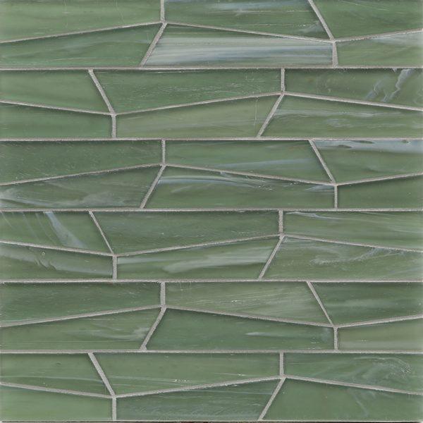 Bamboo Garden Silk Fin Mosaic