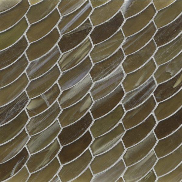 Earthy Silk Feather Mosaic
