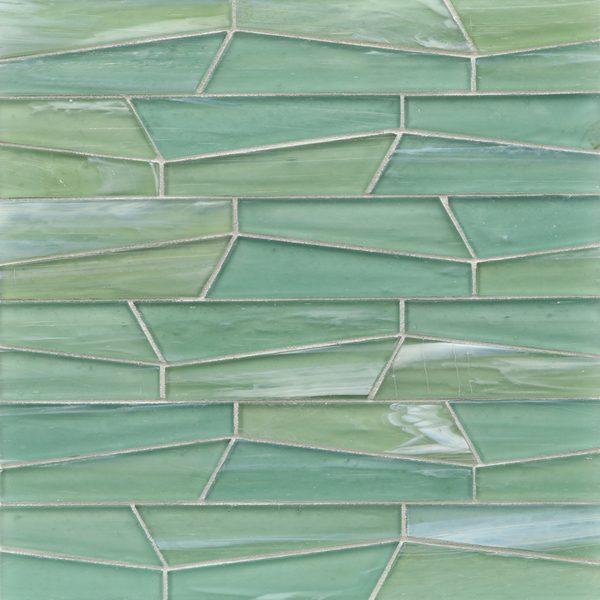 Intrigue Silk Fin Mosaic