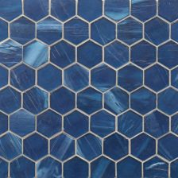"Sani Silk 2"" Hexagon Mosaic"