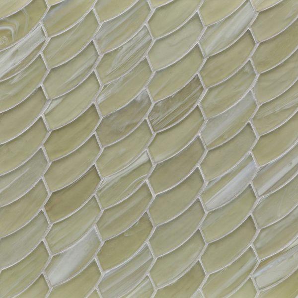 Zephyr Silk Feather Mosaic