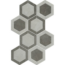 Ivory/Taupe Hex