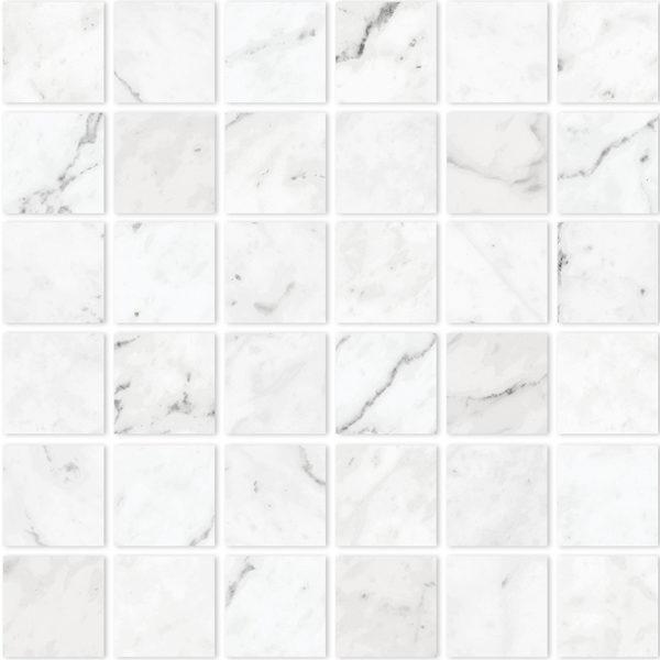 Carrara 2x2 mosaic
