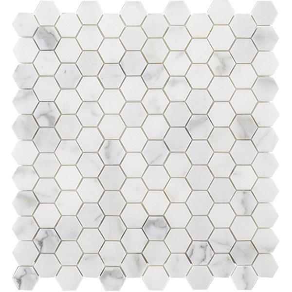 Calacatta Gold Hex Mosaic