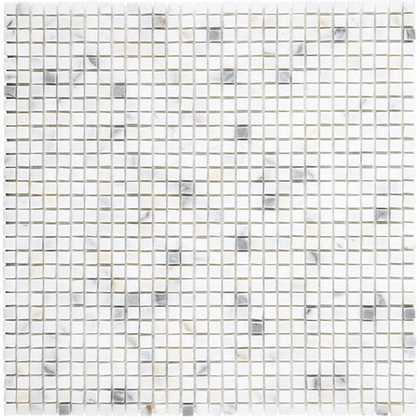 """Calacatta Gold 3/8"""" mosaic"""