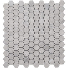 Tunisian Grey Hex Mosaic