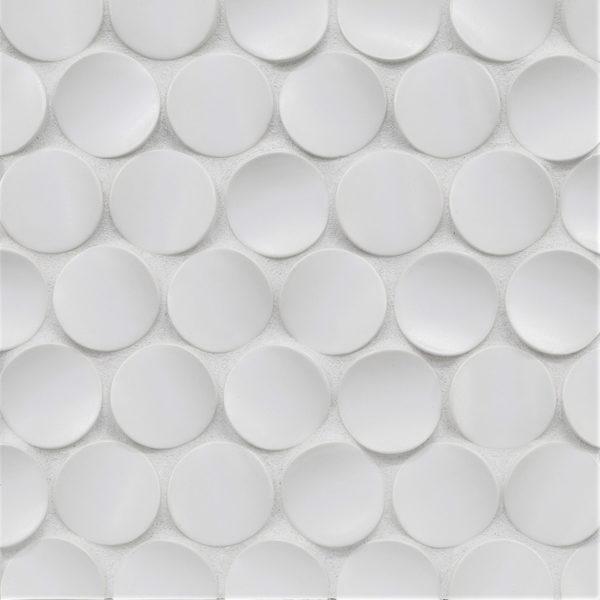 White Sand Crescent Mosaic