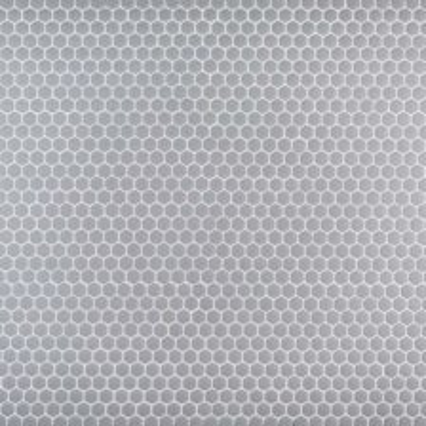 "Grey 5/8"" Hexagon Mosaic"