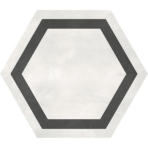 Ivory Hexagon Frame