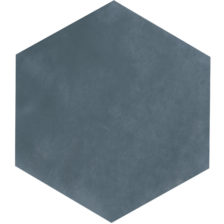 Maiolica \ Blue Steel Hex