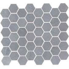 "Bardiglio 2"" Hexagon"
