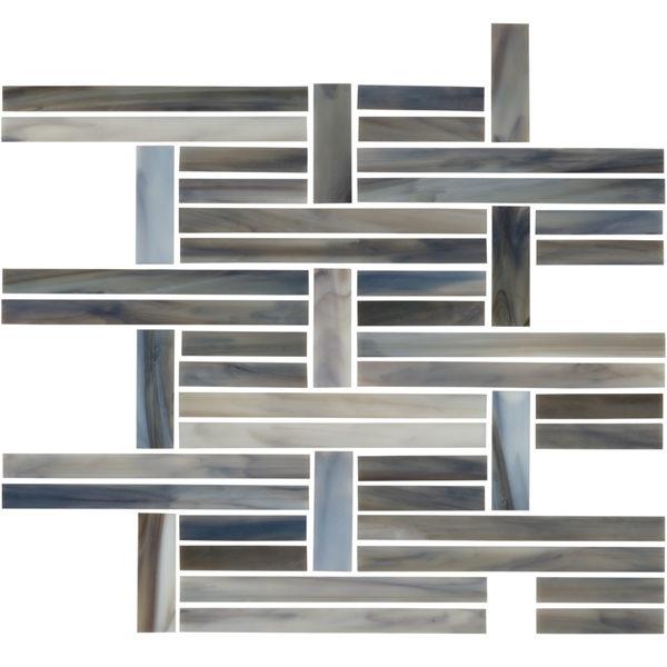 Clay Perpendicular Mosaic