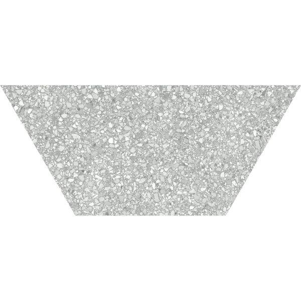 Ash Half Hexagon