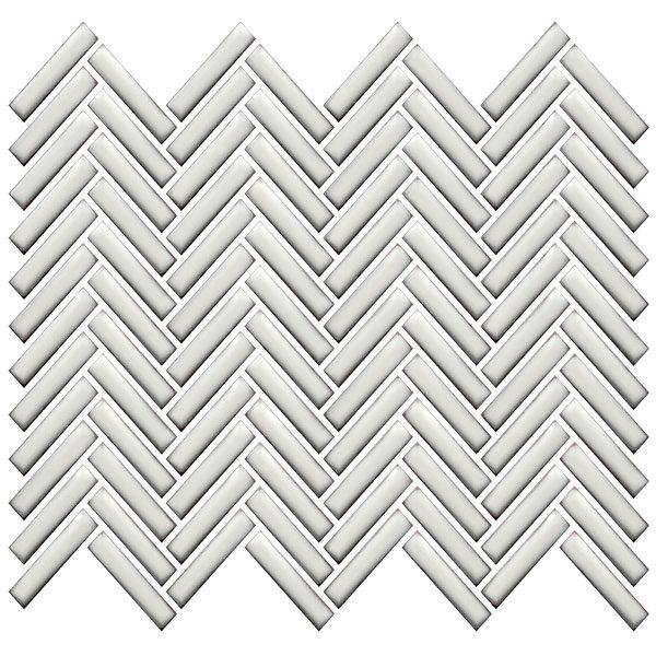 CC Mosaics Plus+ \ Herringbone - Antique White