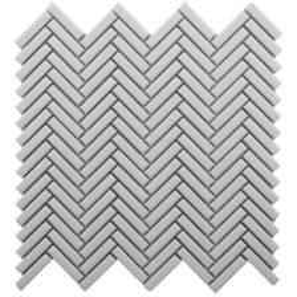 CC Mosaics Plus+ \ Herringbone - White