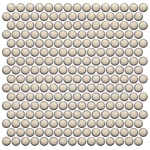 CC Mosaics Plus+ \ Penny Round - Cream
