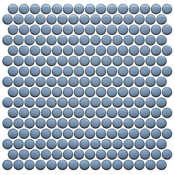 CC Mosaics Plus+ \ Penny Round - Sky Blue