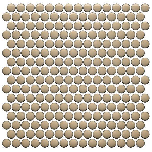 CC Mosaics Plus+ \ Penny Round - Sand