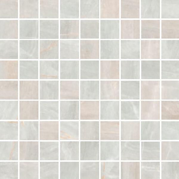"Perla Matte 1 1/4"" x 1 1/4"" Mosaic"