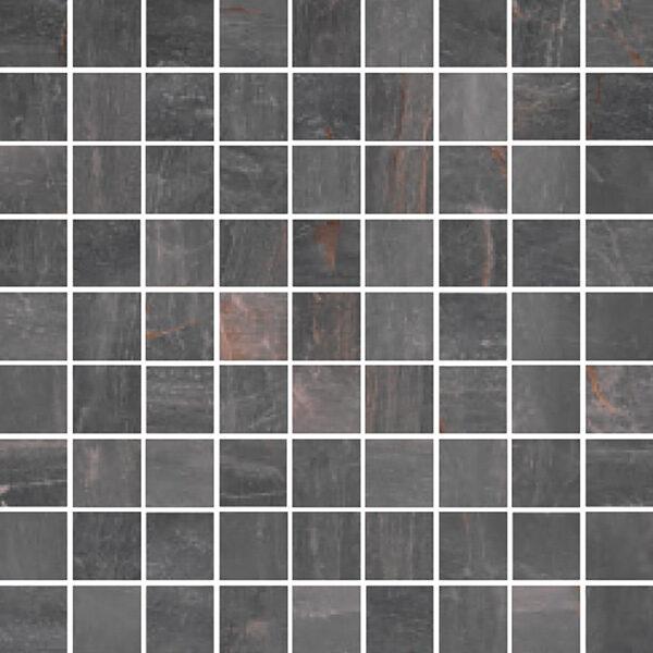 "Piombo Matte 1 1/4"" x 1 1/4"" Mosaic"