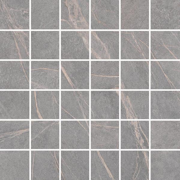 """Grey 2"""" x 2"""" Mosaic"""