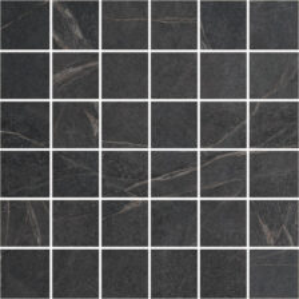 "Black 2"" x 2"" Mosaic"