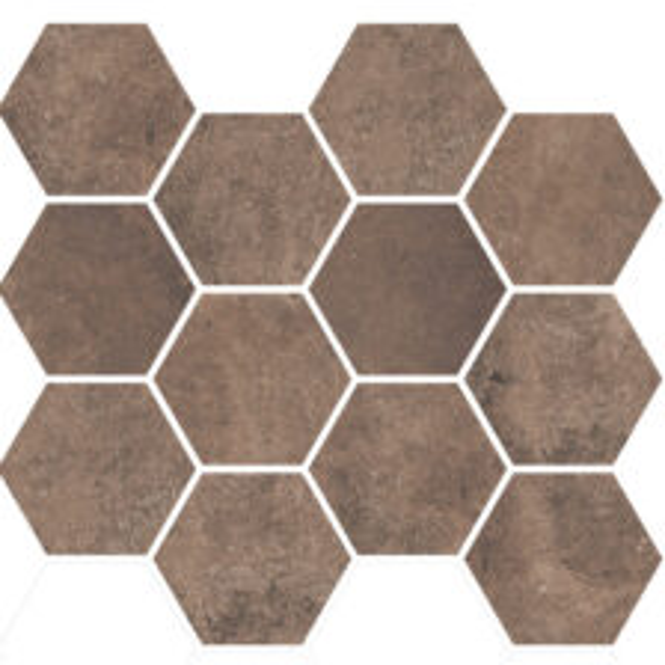 Earth Hexagon Mosaic