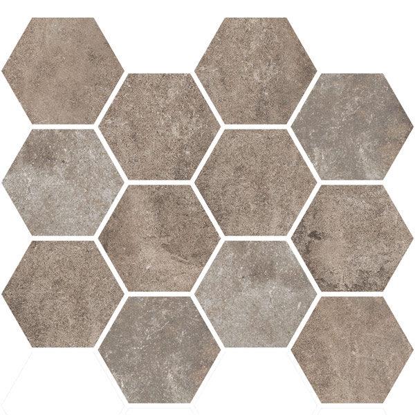 Multicolor Hexagon Mosaic