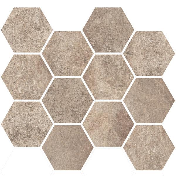 Sand Hexagon Mosaic