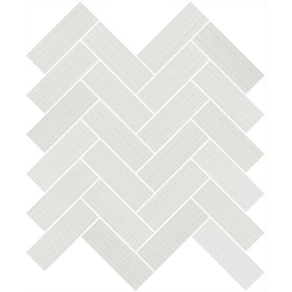 Bianco Herringbone