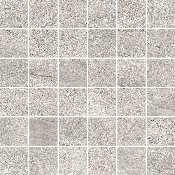 Rock Grey 2x2 Mosaic