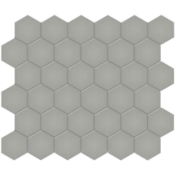 "Cement Chic 2"" Hexagon"