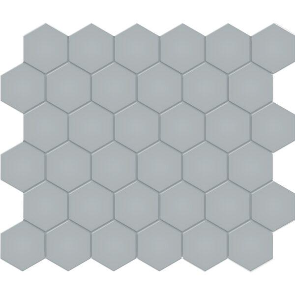 """Cloud Blue 2"""" Hexagon"""